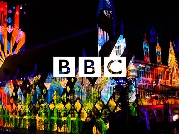 BBC Passchendaele Centenary projection mapping freelance motion graphics animation
