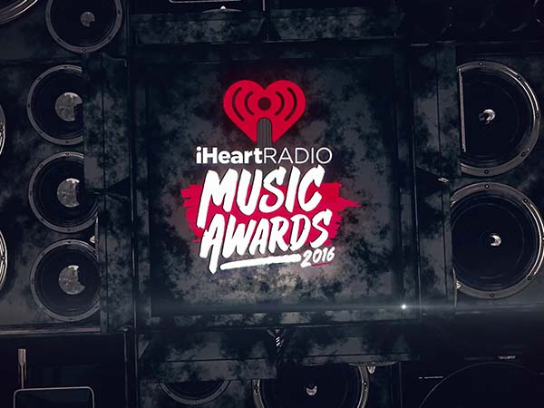 iHeartRadio Music Awards 3d video animation motion graphics designer