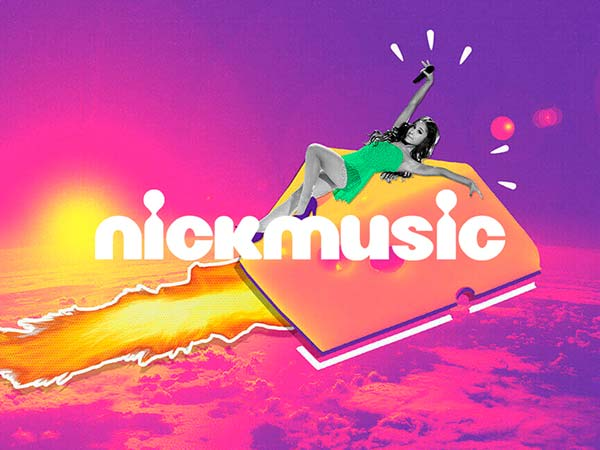 NickMusic Idents freelance motion graphic designer
